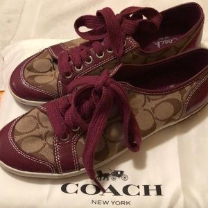 Coach Shoes - Coach tennis shoes
